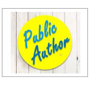 Public Author website designing
