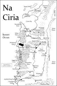 Na Ciria map